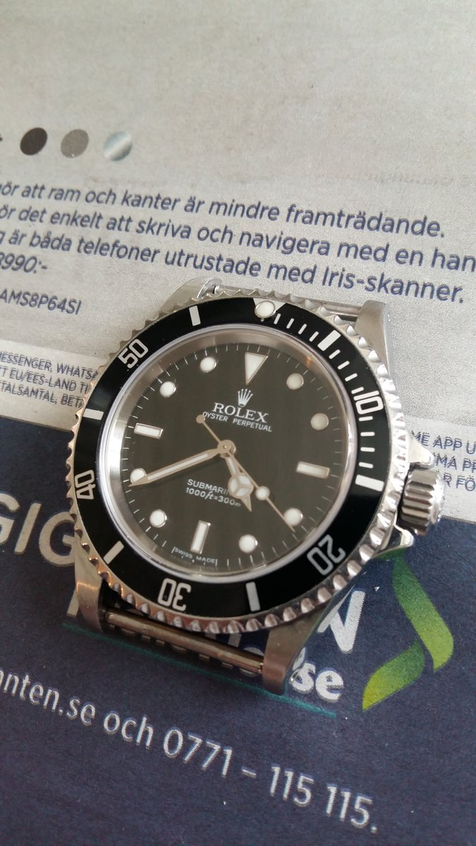 Rolex klocka dating serie nummer