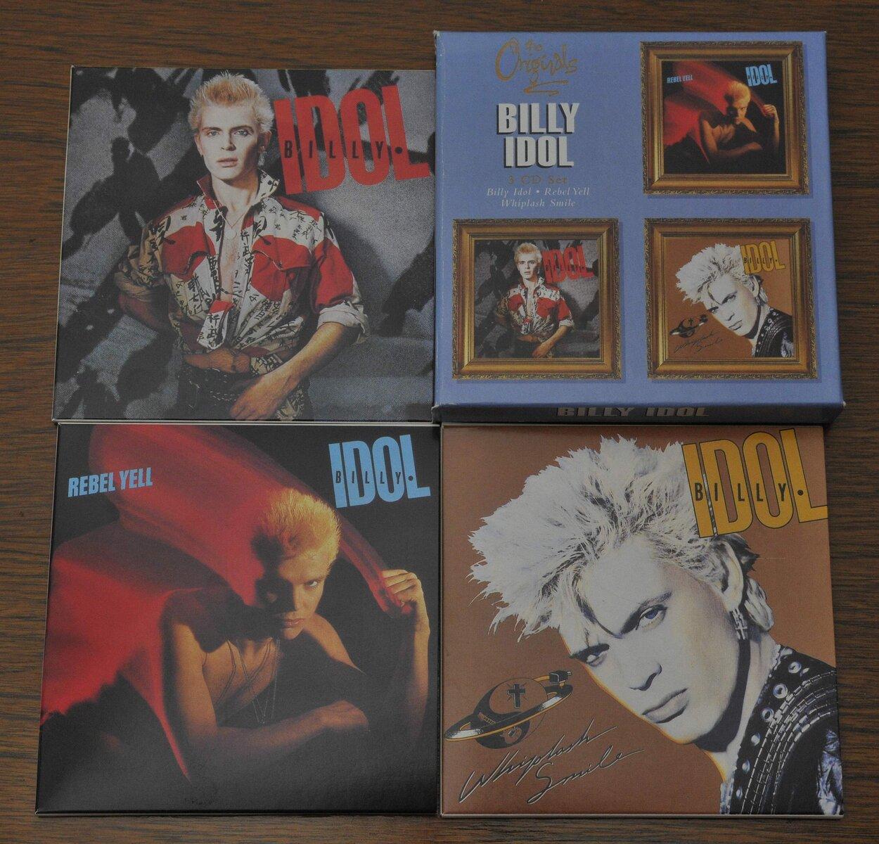 Billy Idol (box).