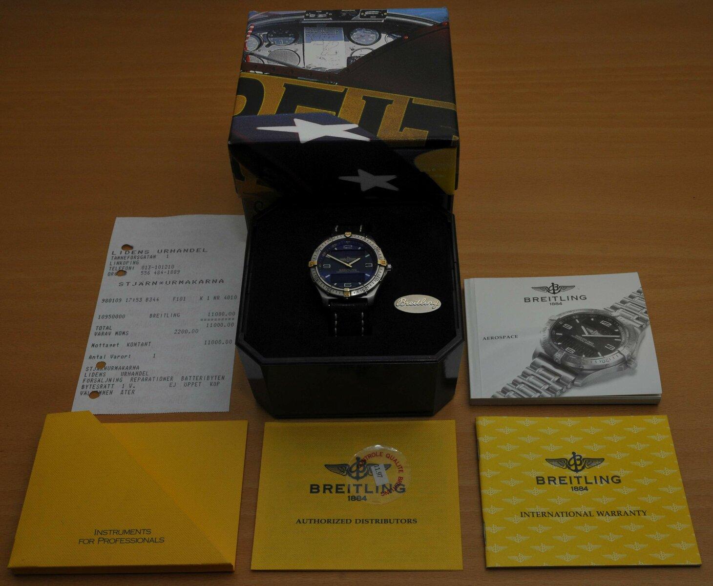Breitling - box 6.