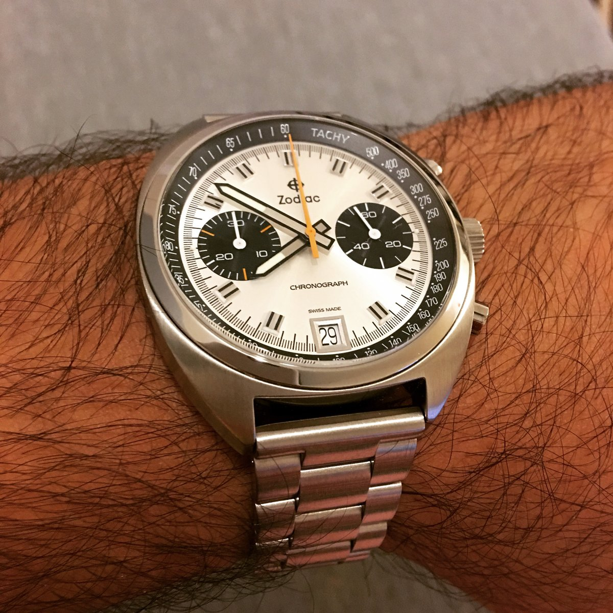 Avslutad Zodiac Grandrally With Metal Links Out Of