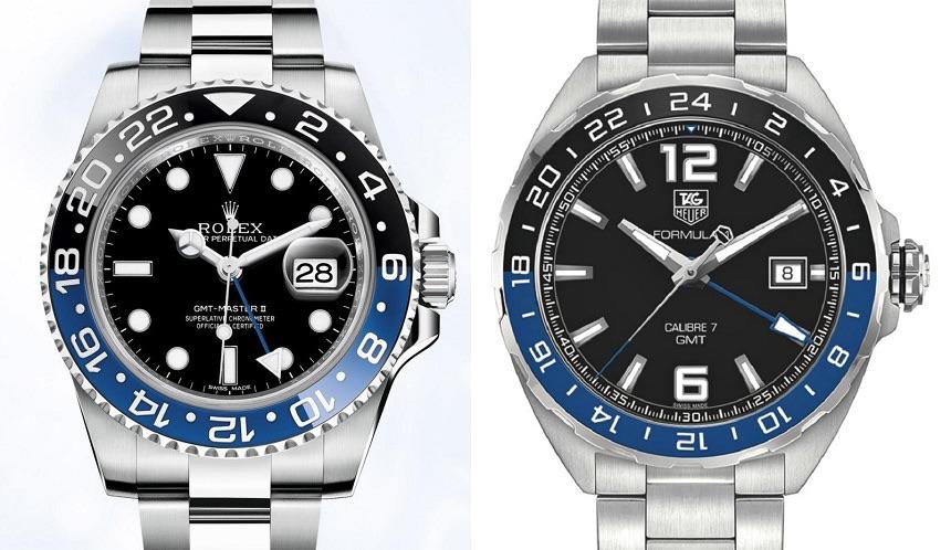 Klockor Som Liknar Rolex Gmt Black And Blue Klocksnack