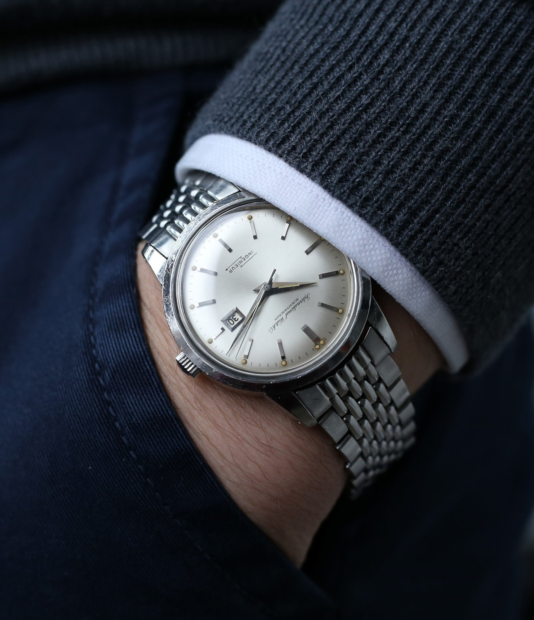 IWC_Ingenieur_666AD_steel_vintage_watch_at_A_Collected_Man23.
