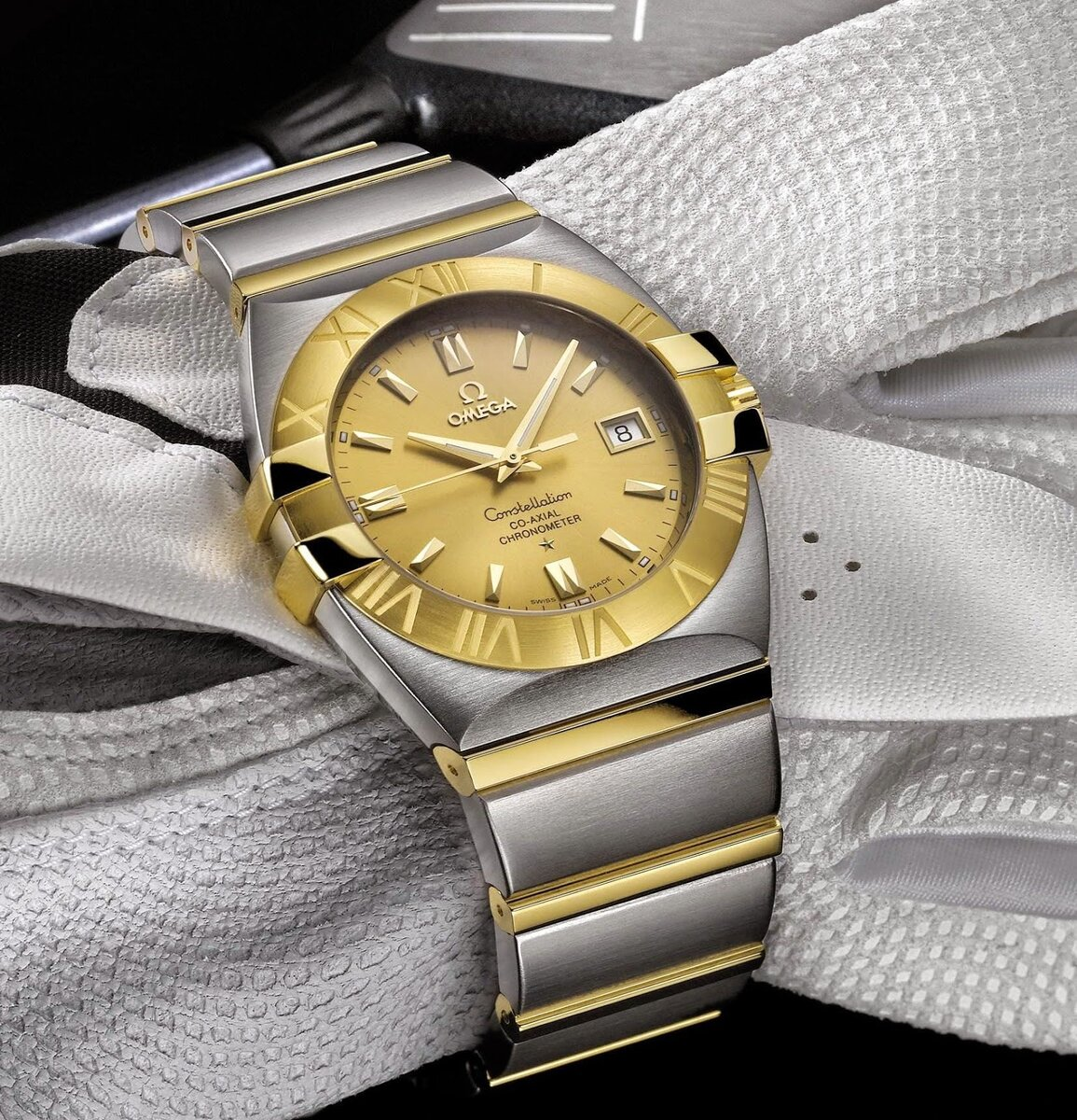 Omega Constellation Double Eagle Chronometer 2.