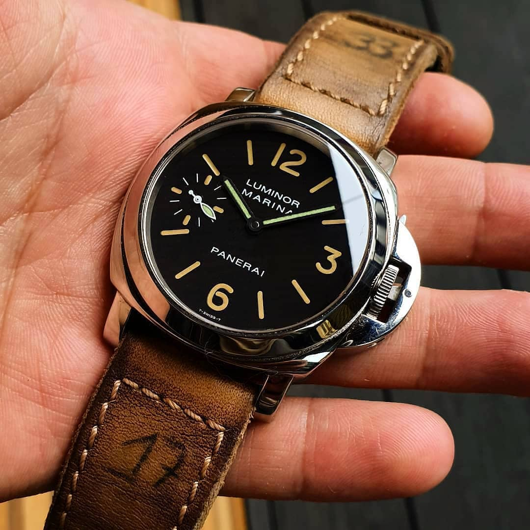 One of my favorite combos _black_heart_ Pre-A - PAM001 on @maysberlin _33_.