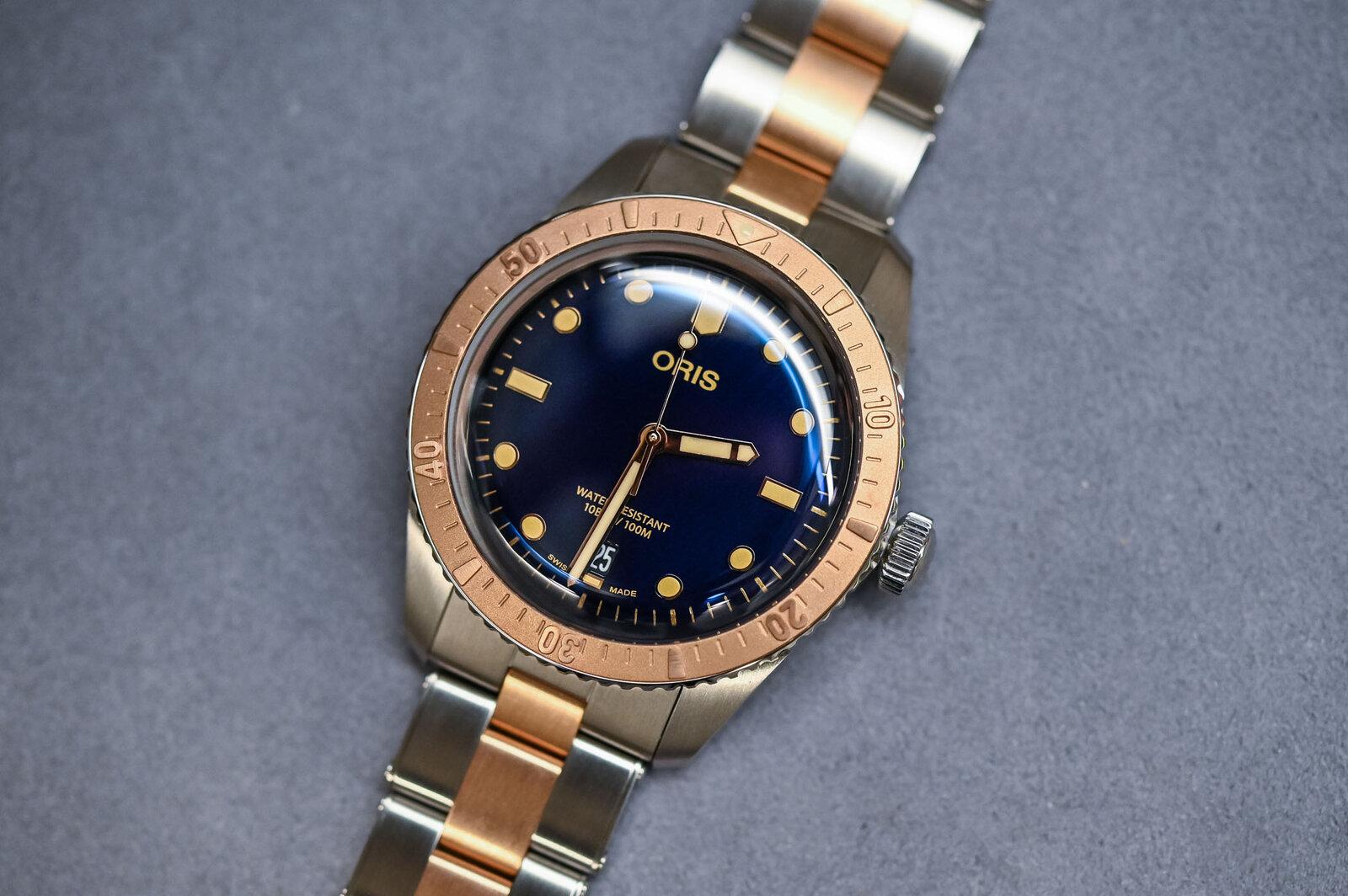 Oris-Divers-Sixty-Five-Bi-Colour-Bico-Steel-and-Bronze-Bracelet-1.