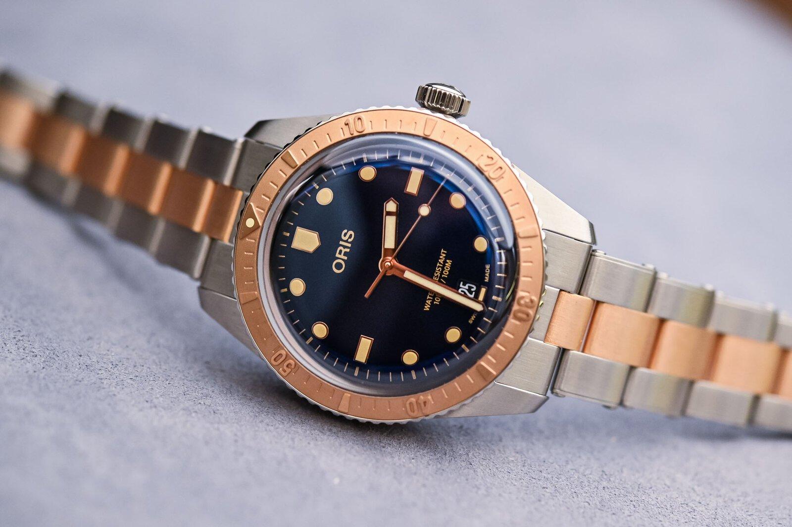 Oris-Divers-Sixty-Five-Bi-Colour-Bico-Steel-and-Bronze-Bracelet-6.