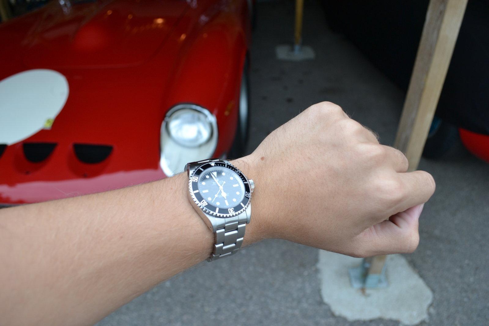 Rolex framför 250GTO.JPG
