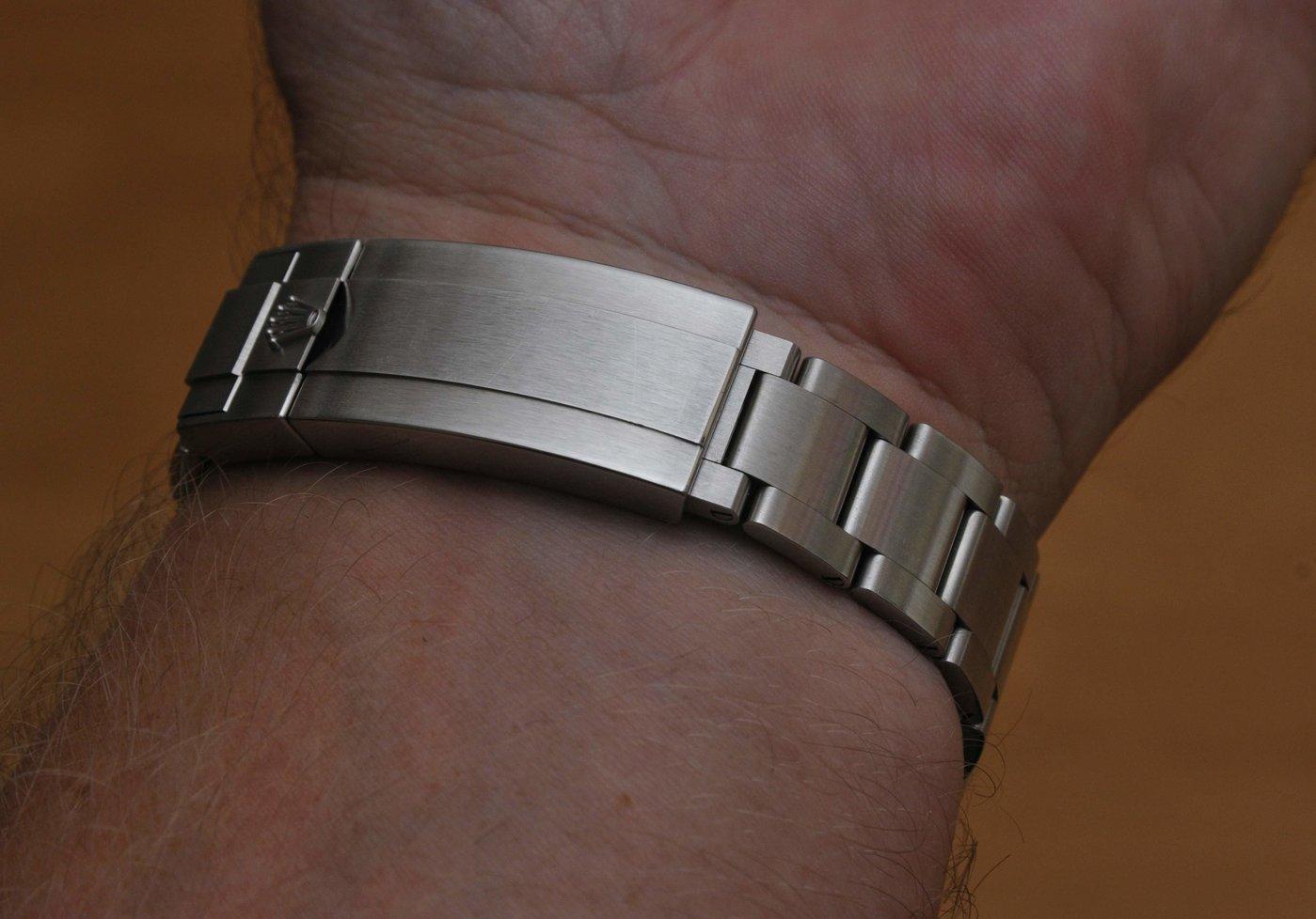 Rolex - lås utan dykarförlängning.