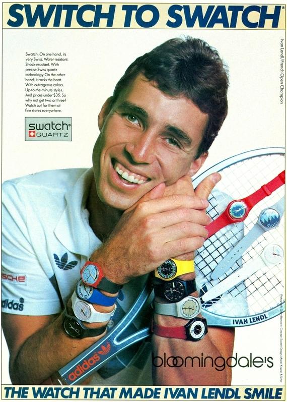 Swatch 1980s kopia.