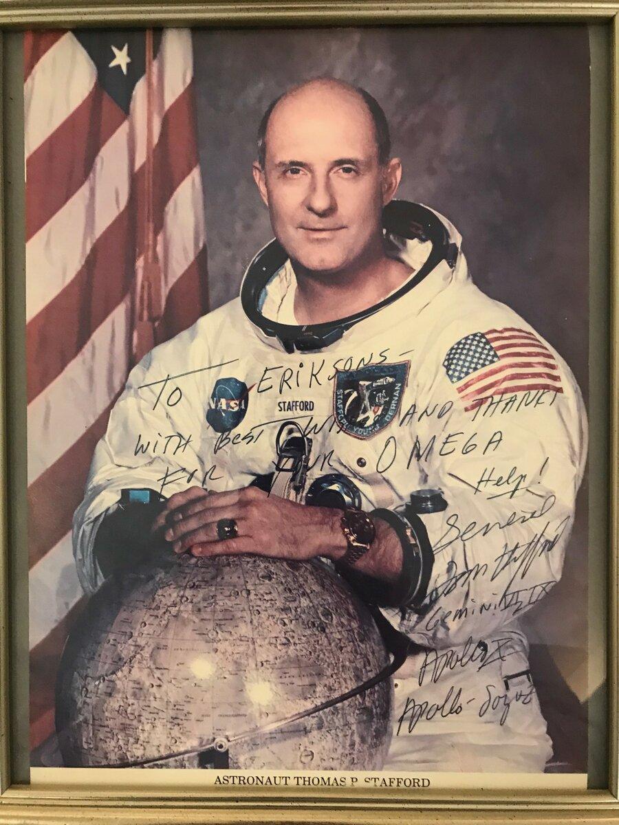 Thomas P Stafford.