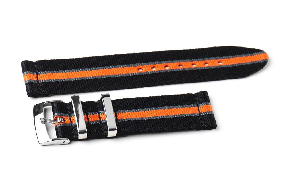 Two_piece_seat_belt_nylon_nato_watch_band_black_gray_and_orange_1296x.