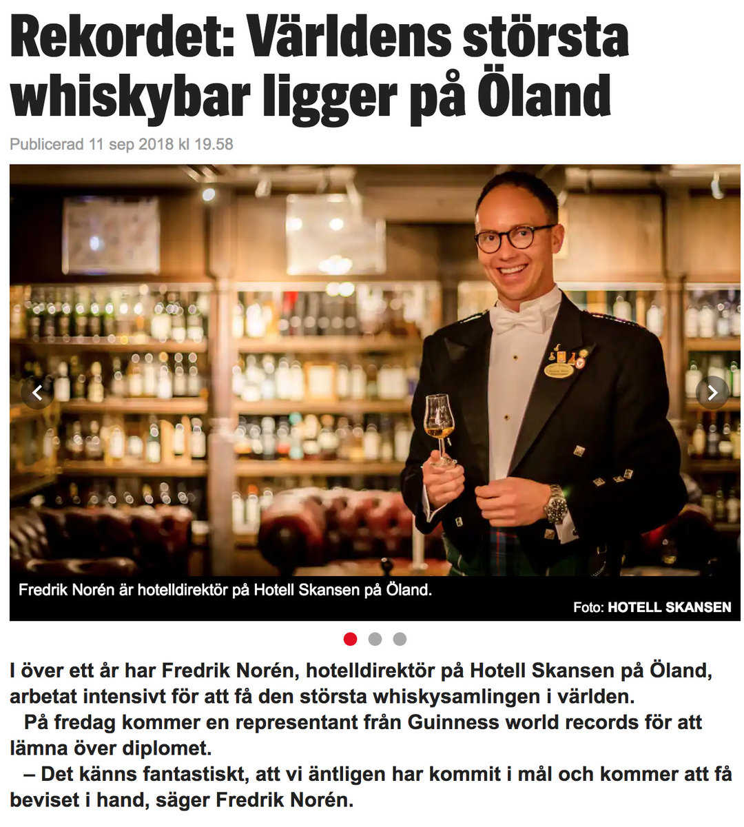 whisky.