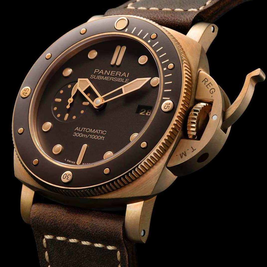 Wondering what would you expect from panerai in SIHH2019 here's a glimpse - bronz.